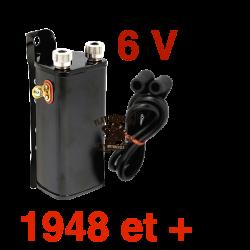Bobine 6V - 1948 et + - Noire